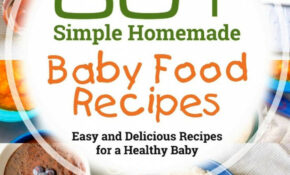 Amazon.com: 12+ Simple Homemade Baby Food Recipes: Easy And ..