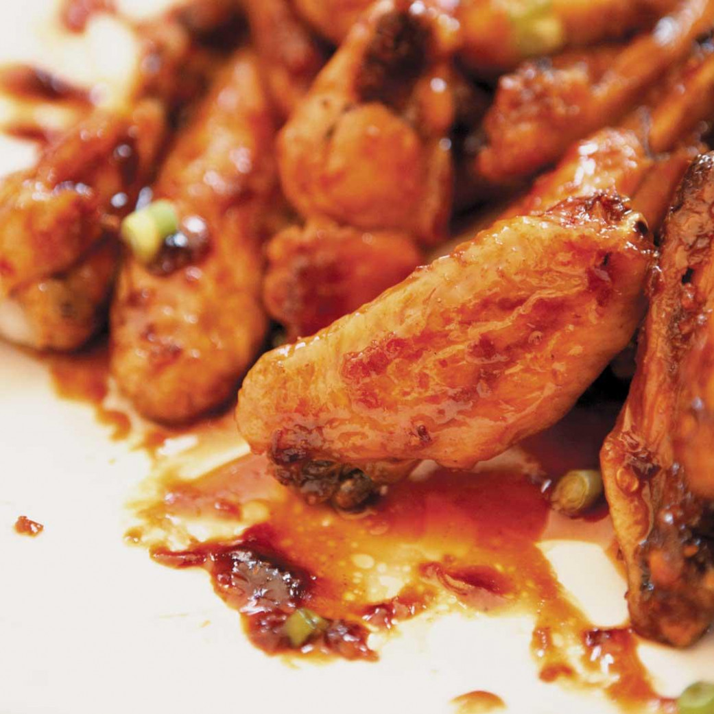 American-Style Chicken Wings - chicken recipes american