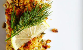 An amazingly easy and elegant Walnut Crusted Halibut recipe ...
