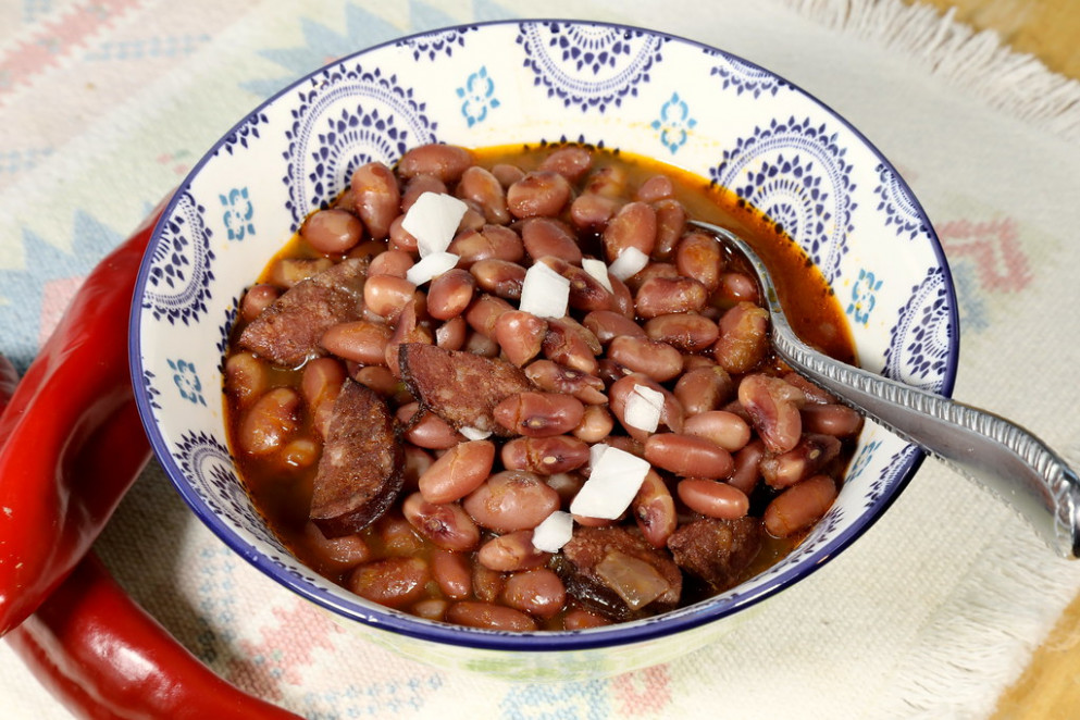 Anasazi Beans 5Div3180 - Mexican Food Recipes With Pictures