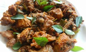 Andhra Style Spicy Chicken Dry | Geeths Dawath – Chicken Recipes Kannada