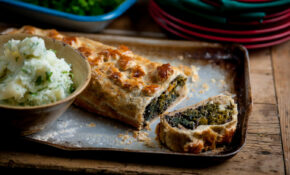Andy Waters' Veggie Wellington With Herby Mash – Recipe Vegetarian Wellington