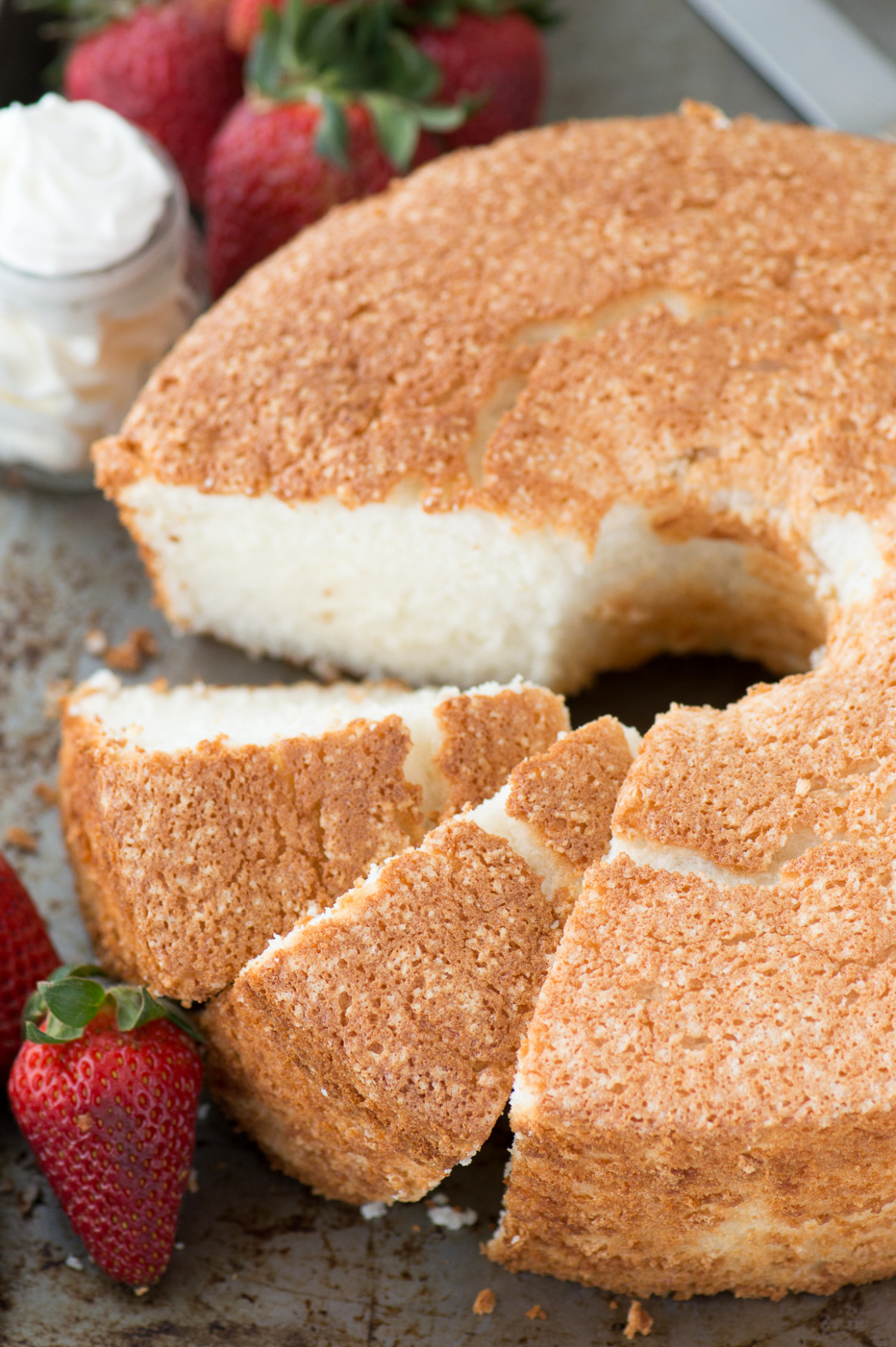 Angel Food Cake | The First Year - recipes angel food cake
