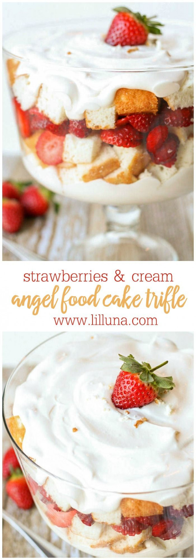 angel food cake trifle recipe with pudding - recipes with angel food cake