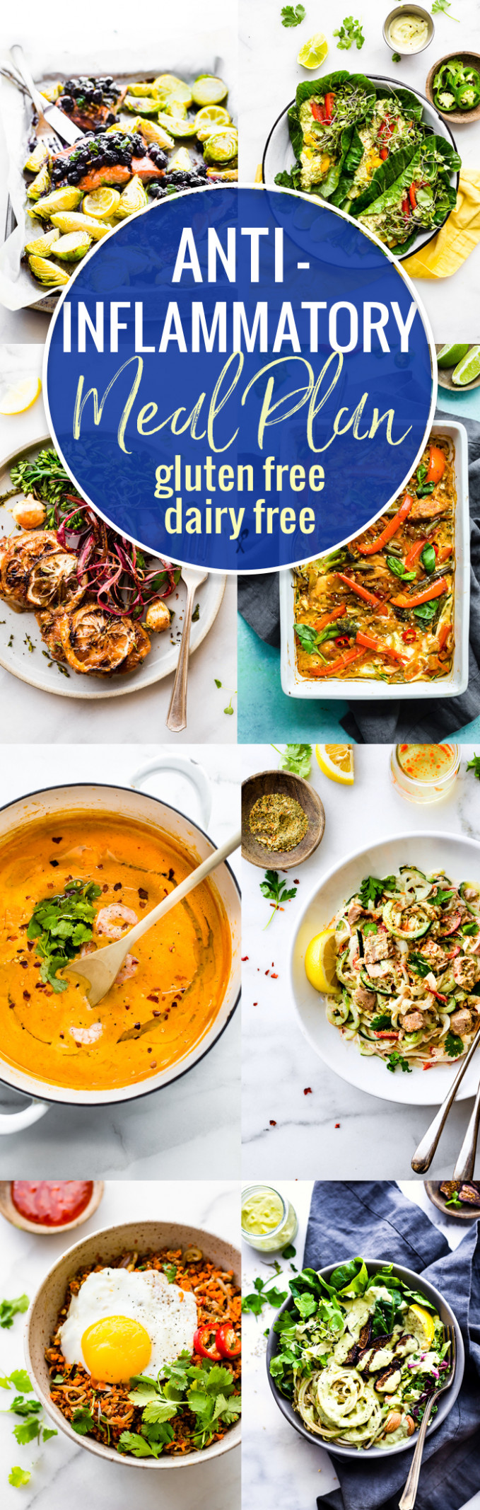 Anti Inflammatory Meal Plan Of Dairy Free And Gluten Free ..