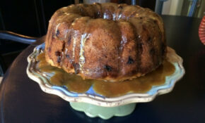 Apple Bundt Cake With Caramel Glaze Recipe – Genius Kitchen – Recipes Casseroles Vegetarian