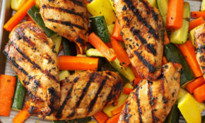 Apple Marinated Chicken & Vegetables Recipe | Taste Of Home – Chicken And Vegetable Recipes