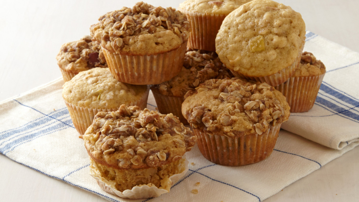 Apple Oatmeal Muffins - oat recipes dinner