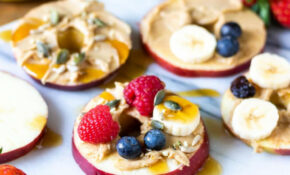 Apple Pizzas – Healthy Recipes Apples