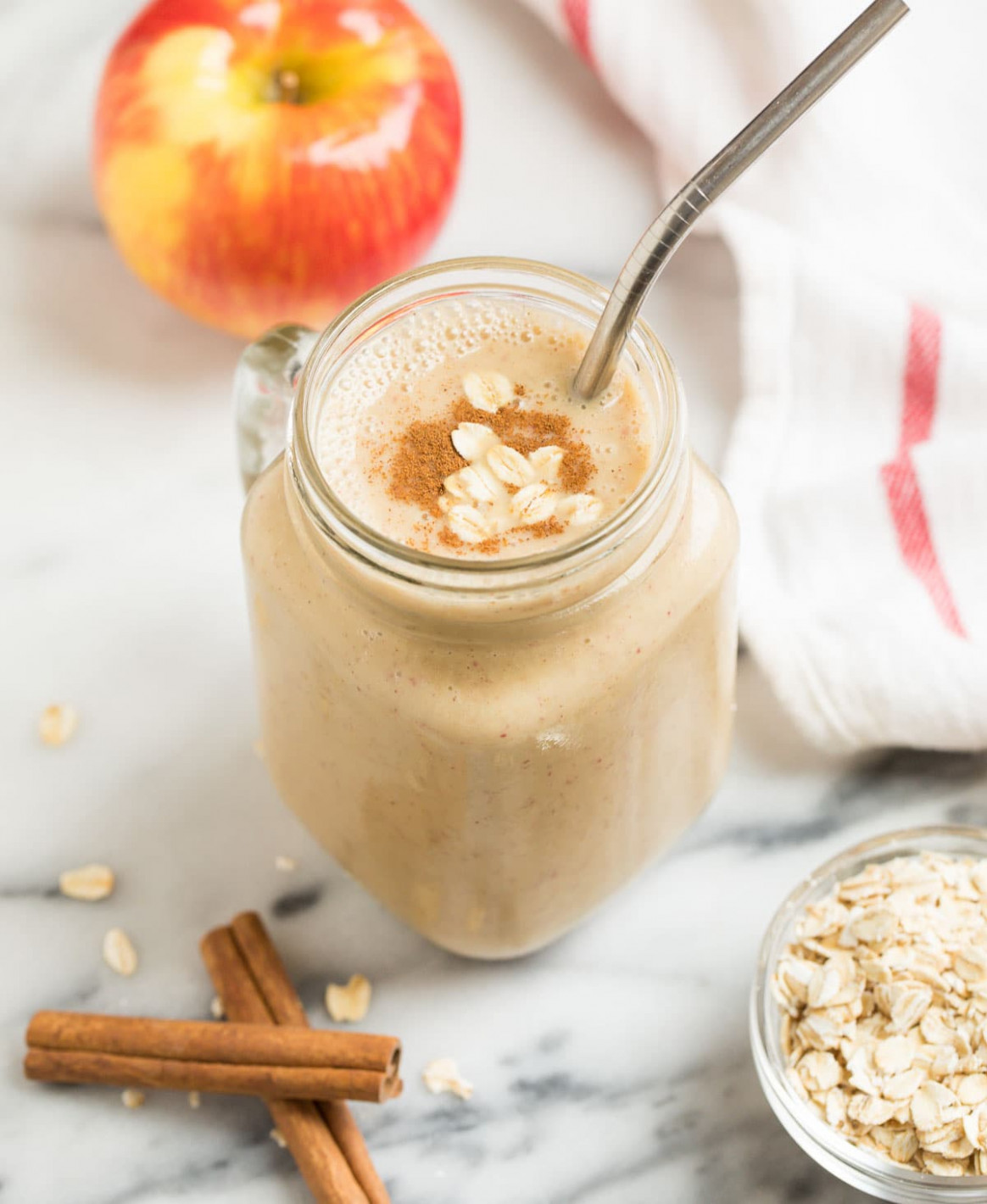 Apple Smoothie - healthy recipes using apples
