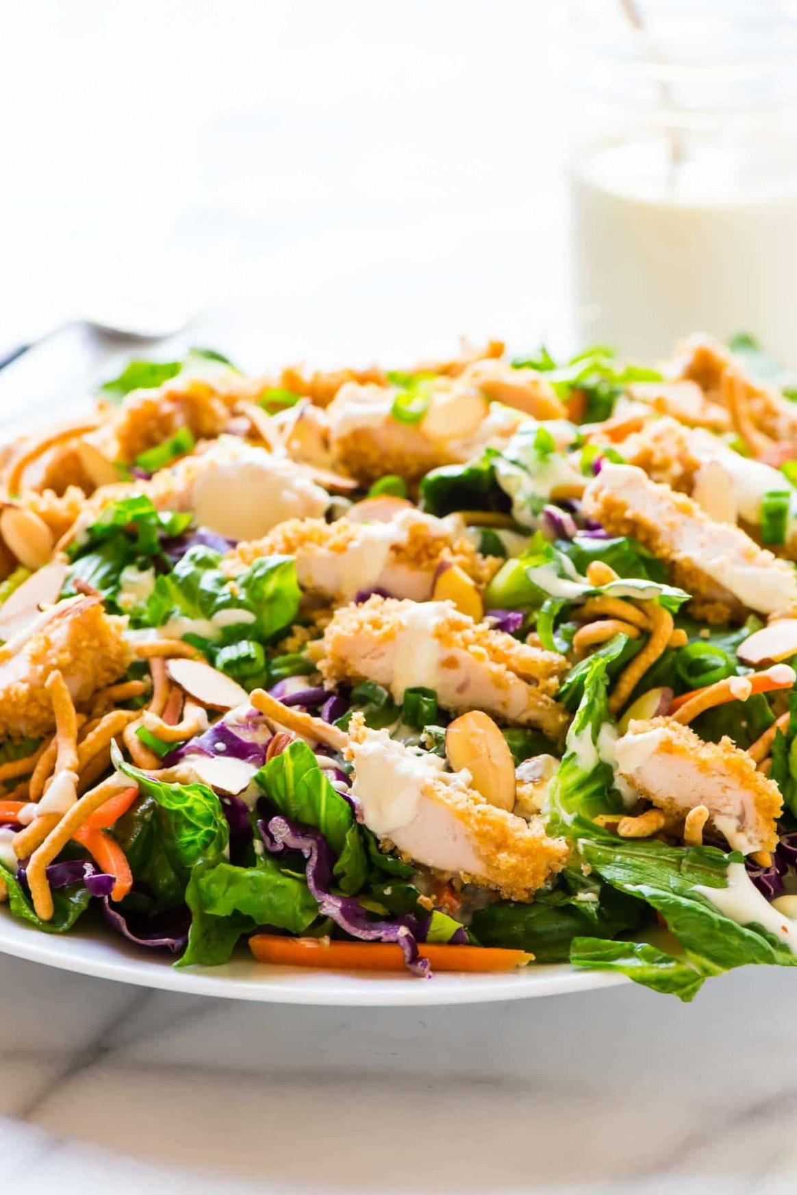 Applebee's Oriental Chicken Salad with Oriental Dressing - recipes for chicken salad