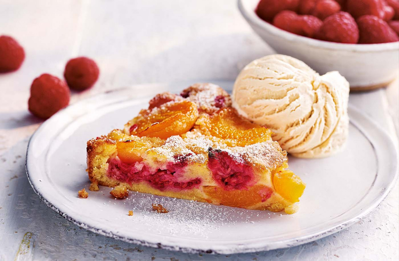 Apricot And Raspberry Clafoutis - Dessert Recipes That Are Healthy