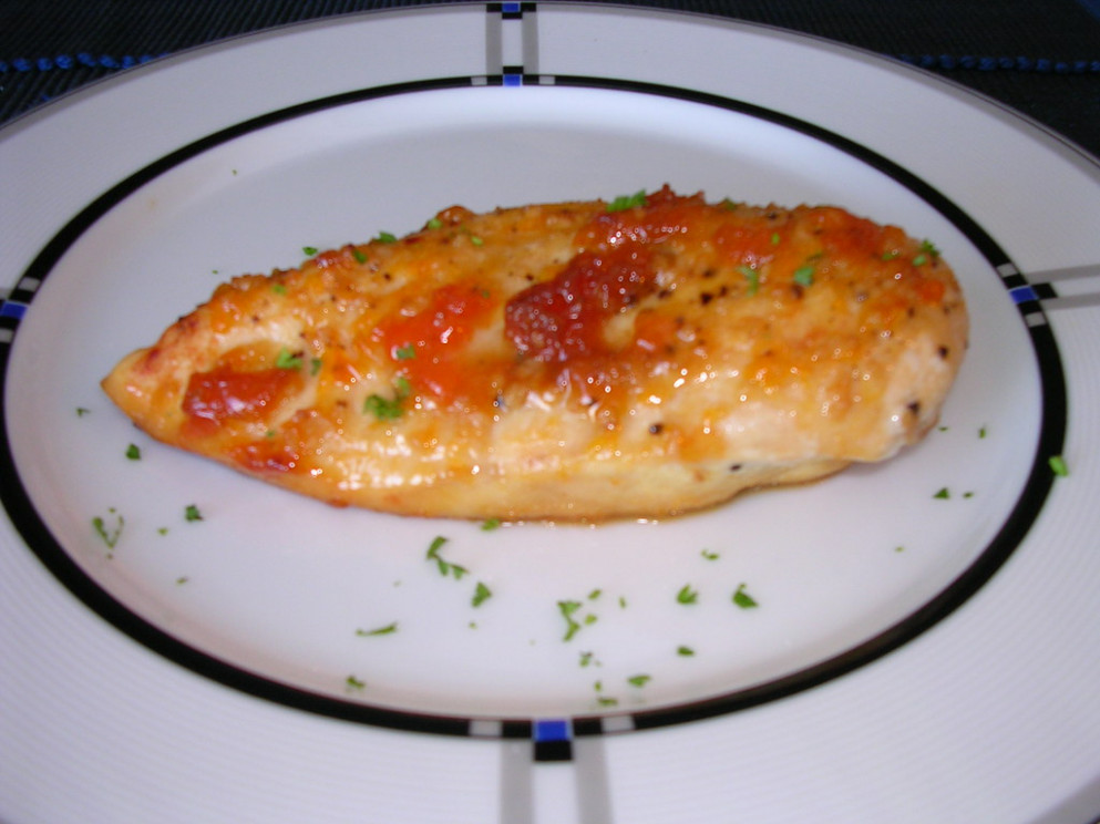 Apricot Glazed Breast of Chicken - recipes ideas with chicken