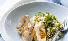 Apricot Stuffed Chicken Breast And Couscous – Apricot Recipes Chicken