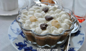 Arabic Coffee Pot De Crème With Whipped Cream – Arabic Food Recipes With Pictures