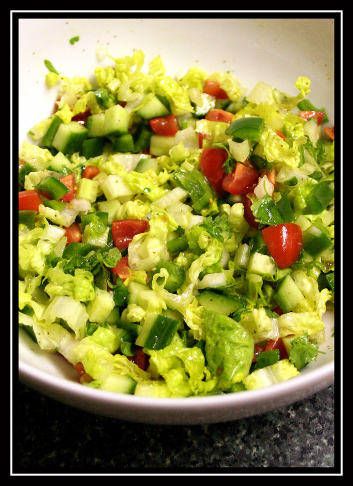 Arabic Salad - food recipes arabic