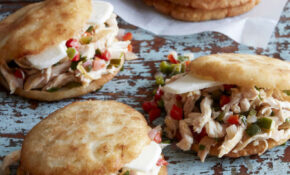 Arepas With Pulled Poblano Chicken – Recipes Pulled Chicken