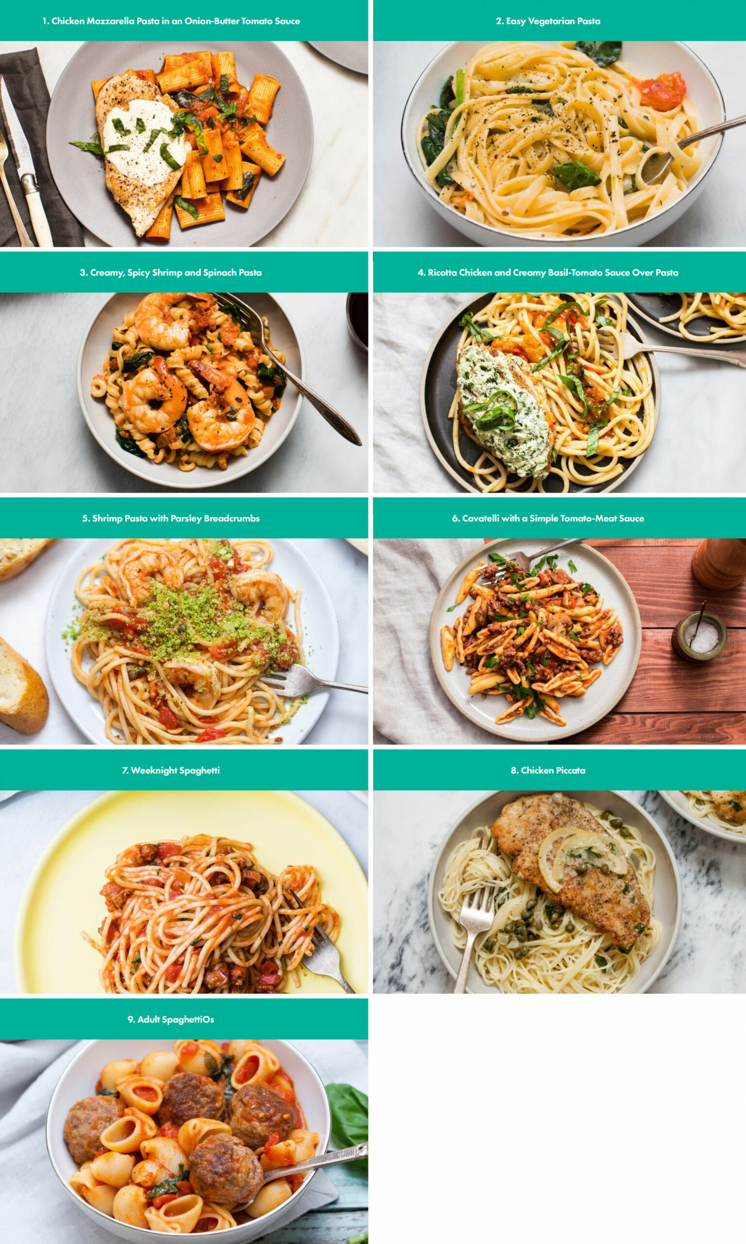 As Requested, Here Are My Favorite Pasta Recipes To Help Get ..