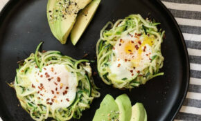 Ascend Cycle — Zoodle Egg Nests – Breakfast for Dinner