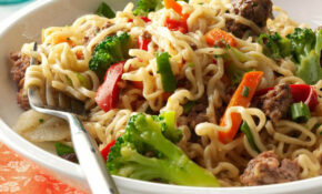 Asian Beef and Noodles Recipe | Taste of Home