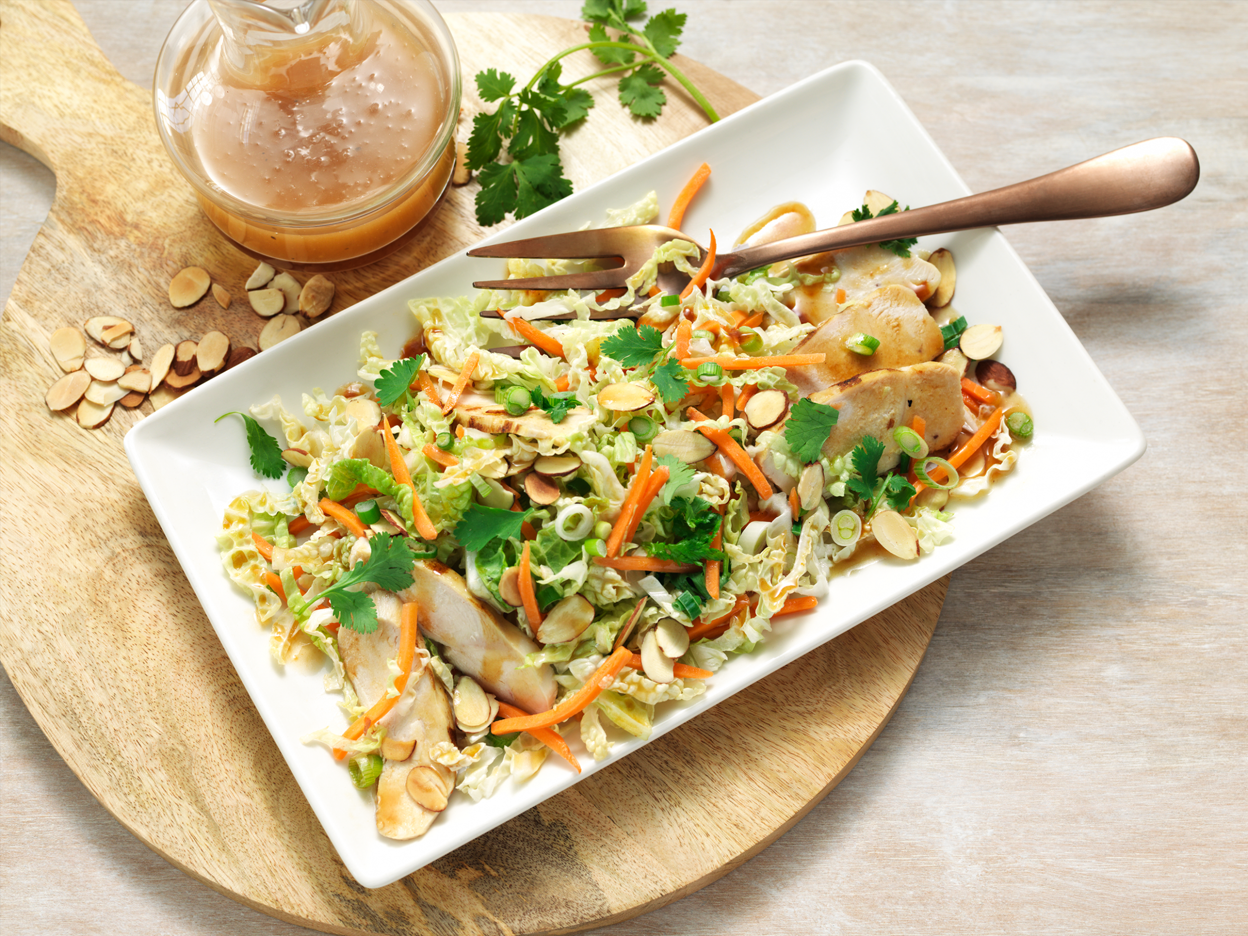 Asian Chicken Chopped Salad - Recipes Diced Chicken
