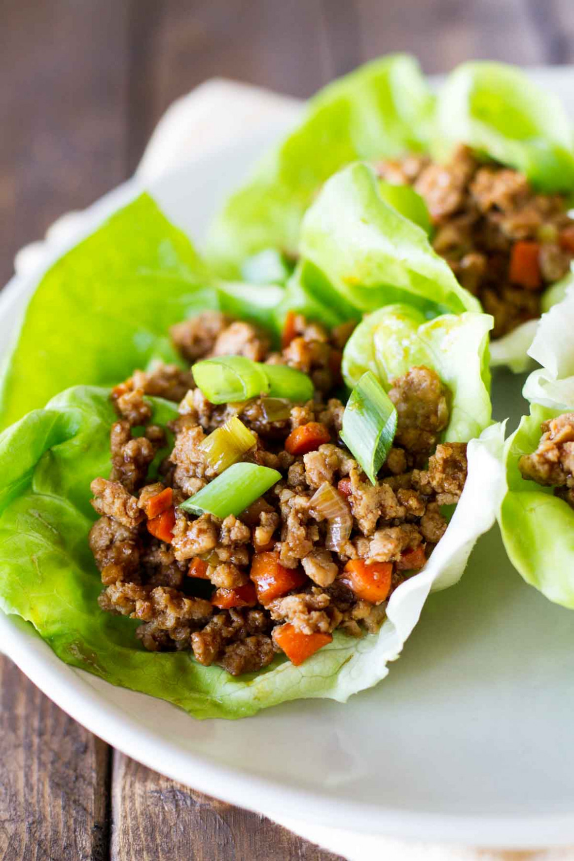 Asian Chicken Lettuce Wraps - Asian Food Recipes
