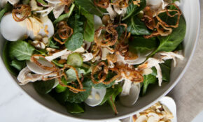 Asian Chicken Salad With Creamy Mustard Miso Dressing – Asian Recipes Chicken