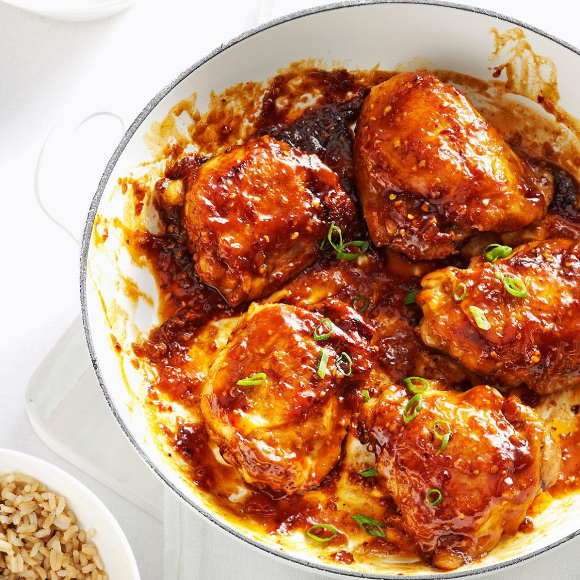 Asian Chicken Thighs - winter recipes chicken