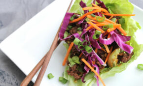 Asian Ground Beef And Veggie Lettuce Wraps – Recipes Vegetarian Wraps