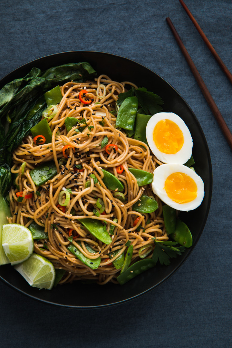 Asian Inspired Chili Garlic Noodles - Will Cook For Friends - food recipes asian