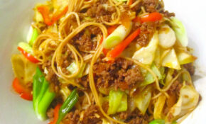 Asian Inspired Fiery Lamb With Egg Noodles And Vegetables @ Home By Hans Susser – Quick Comfort Food Recipes