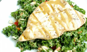 Asian Kale Salad With Grilled Chicken – Happy Healthy Mama – Healthy Chicken And Kale Recipes