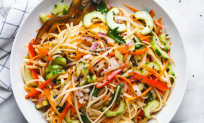 Asian Noodle Salad Recipe With The Best Ever Ginger ..