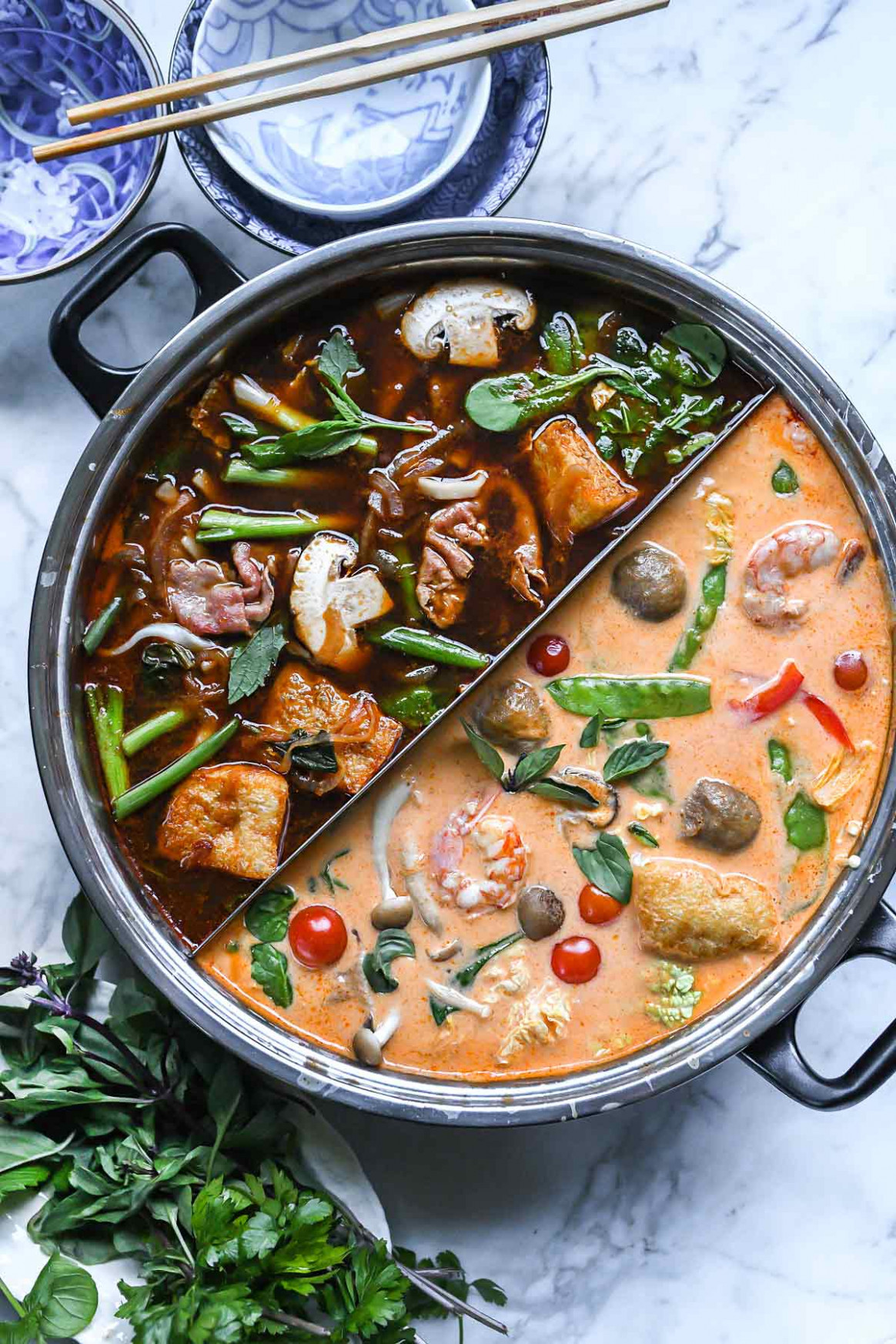Asian Red Curry Hot Pot Broth - Recipes Easy Chinese Food