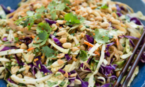 Asian Rice Noodle Salad – Vegetarian Recipes Asian