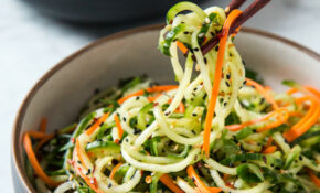 Asian Sesame Cucumber Salad | Will Cook For Friends – Vegetarian Zoodle Recipes
