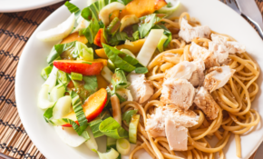 Asian Spiced Chicken With Vanilla Apricot Sauce – Healthy Pasta Recipes Chicken