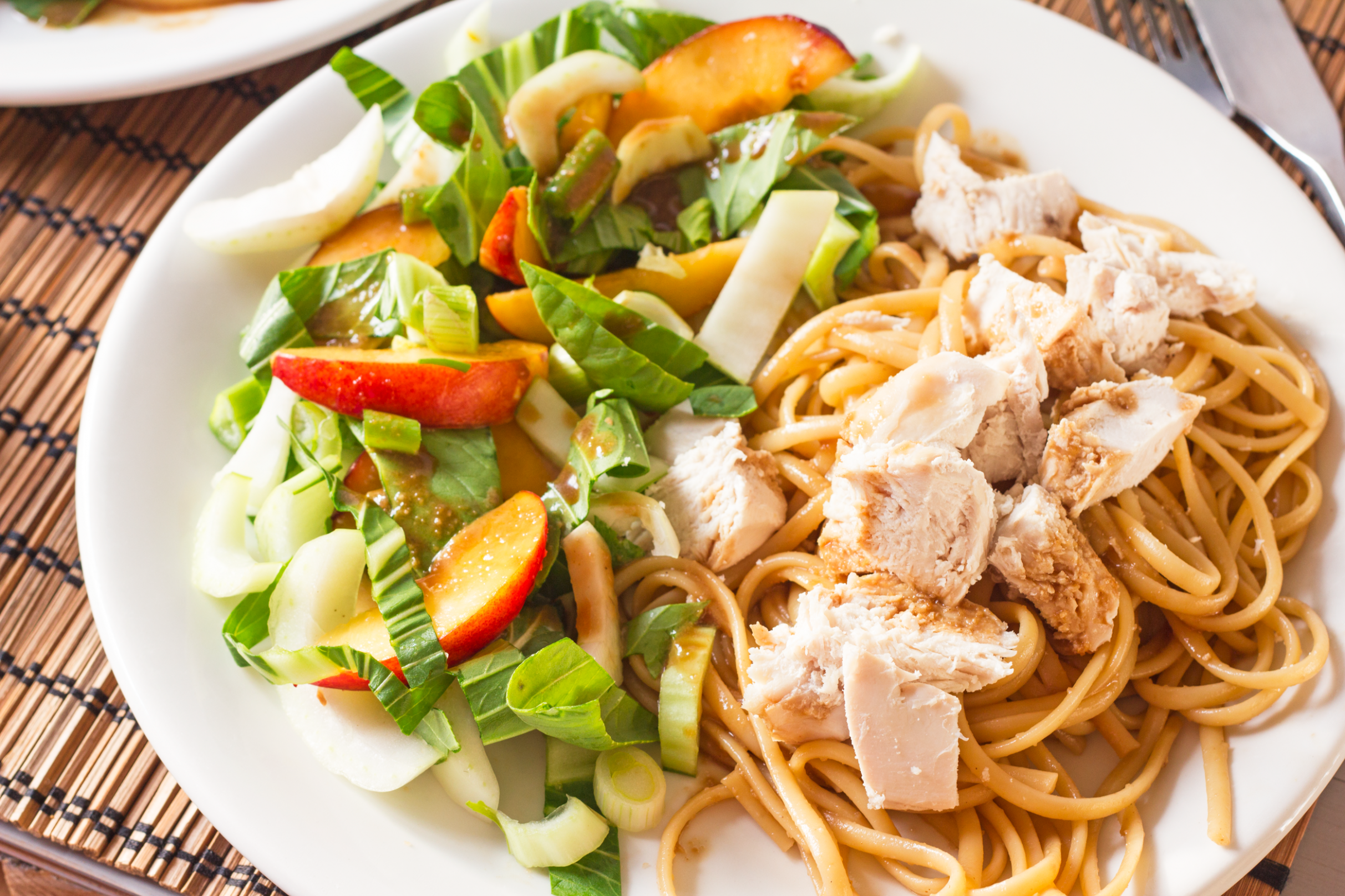 Asian Spiced Chicken With Vanilla Apricot Sauce - healthy pasta recipes chicken