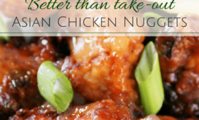 Asian Style Chicken Nuggets – The Chunky Chef – Asian Recipes Chicken