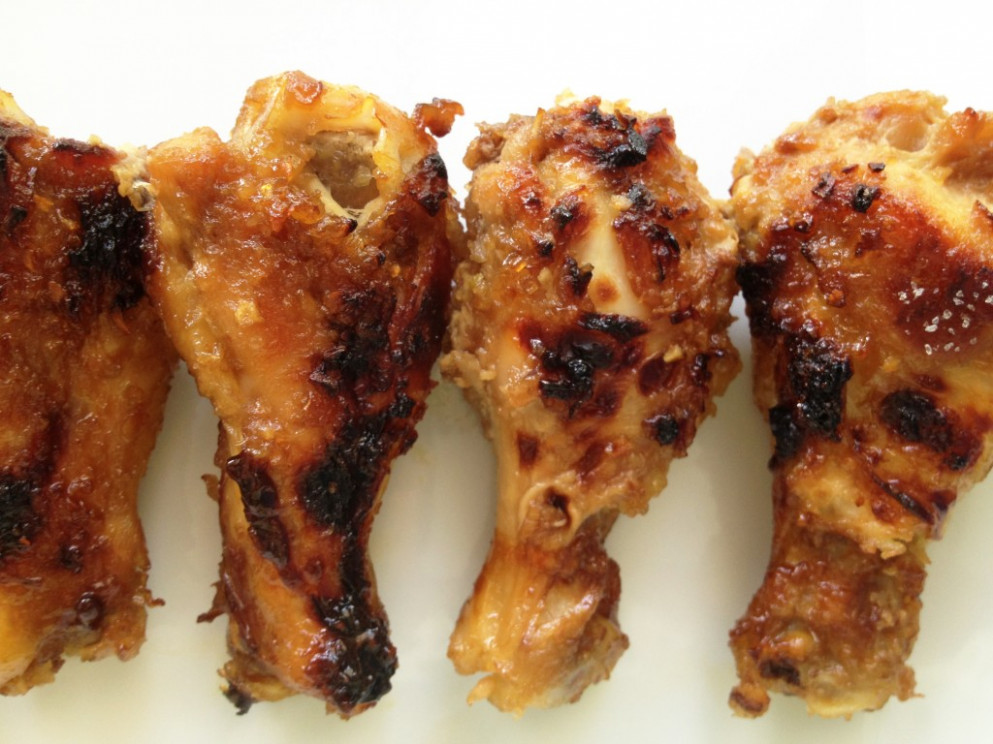 Asian-Style Honey Roast Chicken - recipes for baked chicken