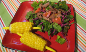Asian Style Steak With Salad – Dinner Recipes Steak