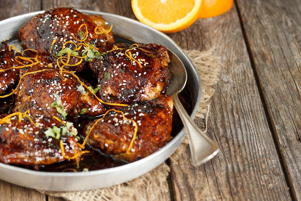 Asian Sweet and Spicy Sticky Chicken - Seasons and Suppers - chicken recipes asian