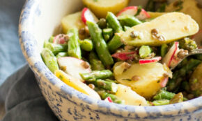 Asparagus, Potato, And Lentil Salad With Lemon Vinaigrette – Vegetarian Recipes Asparagus