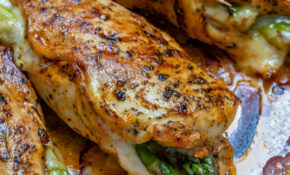 Asparagus Stuffed Chicken Breast – Recipes Using Cooked Chicken