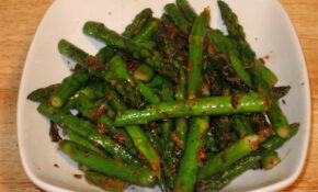 Asparagus With Ginger – Manjula's Kitchen – Indian ..