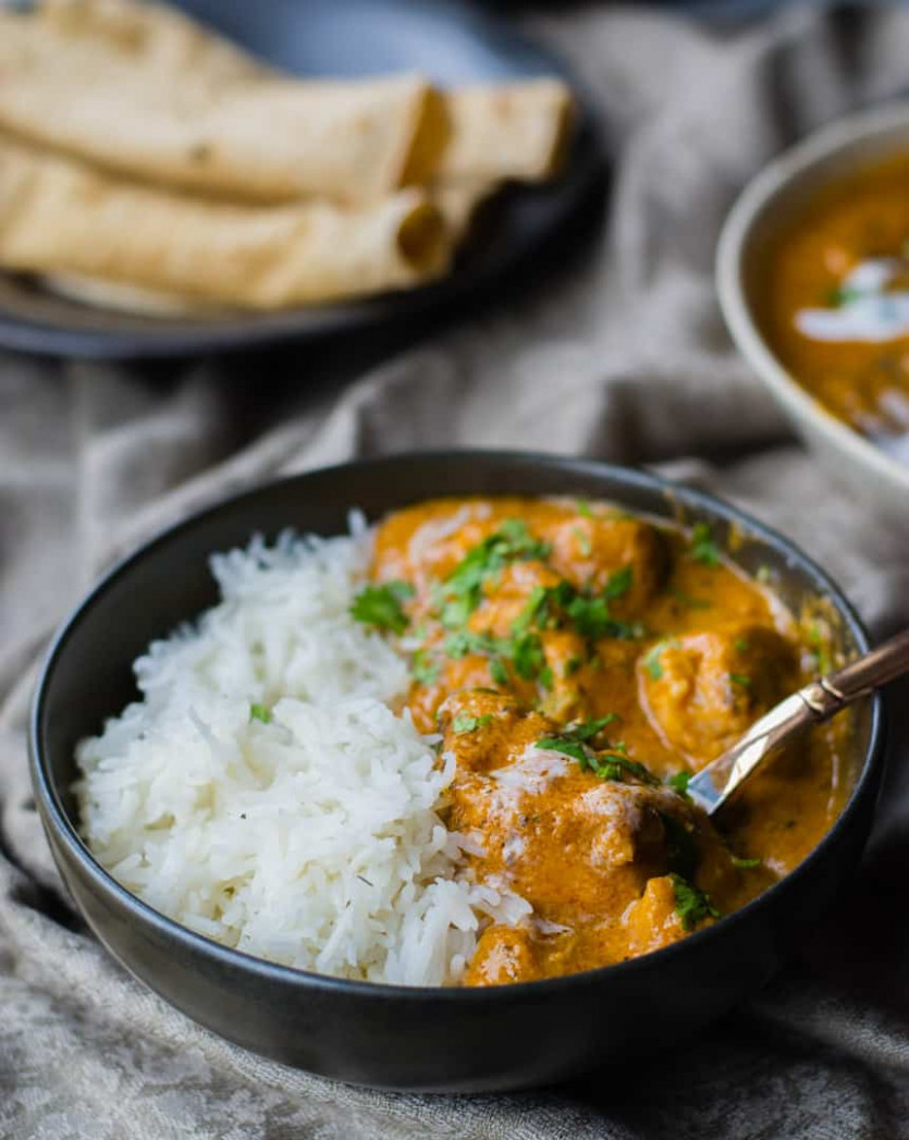 Authentic Indian Butter Chicken Recipe - chicken recipes instant pot