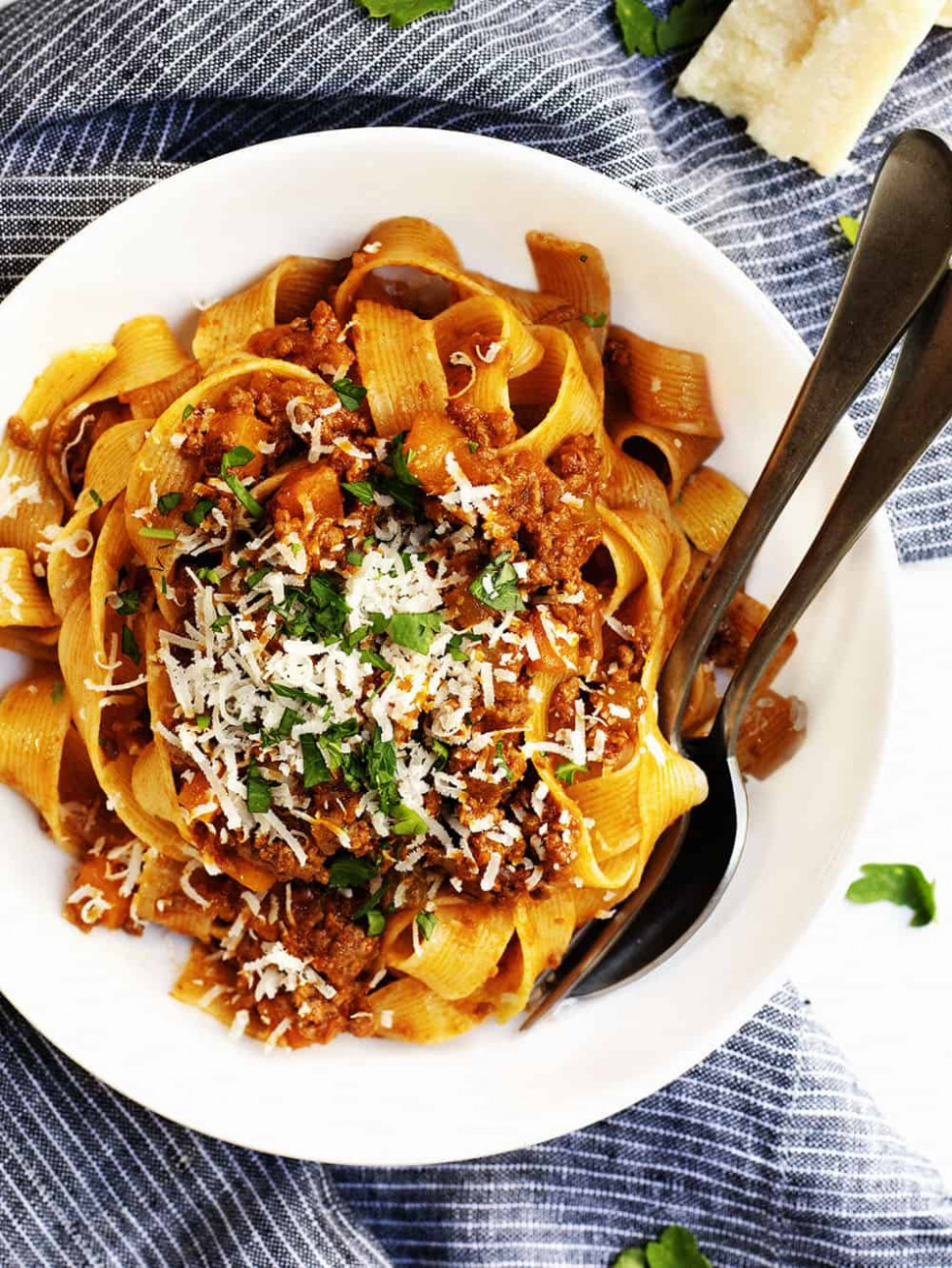 Authentic Italian Ragu Sauce - Pinch and Swirl - recipes italian dinner party