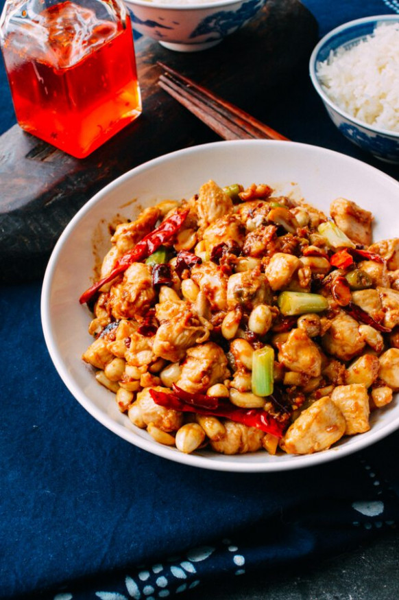 authentic kung pao chicken recipe - recipes kung pao chicken