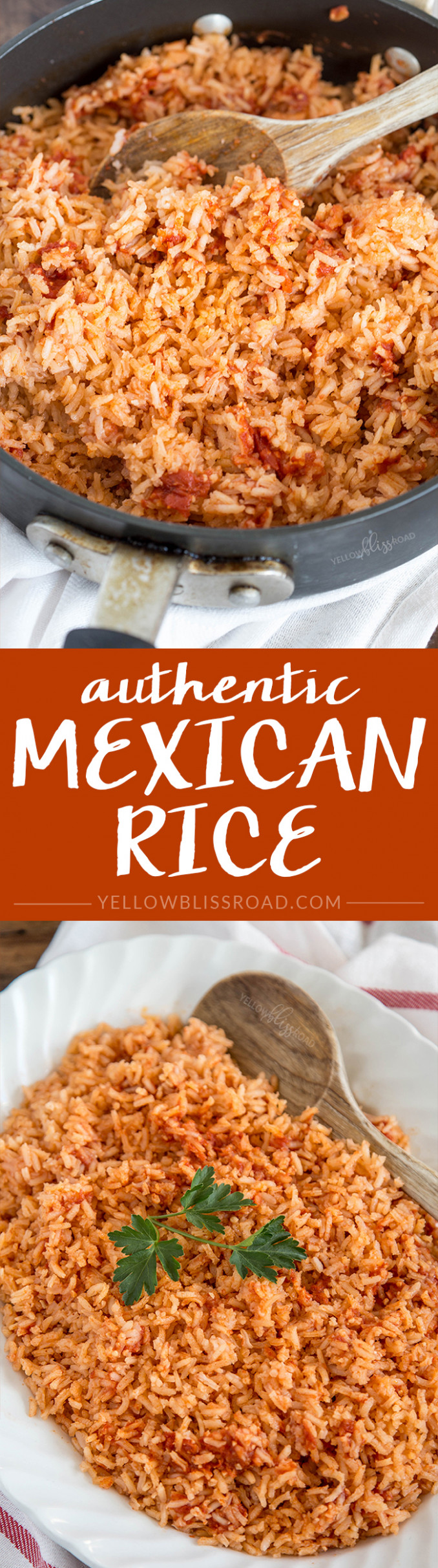 Authentic Mexican Rice - authentic mexican food recipes