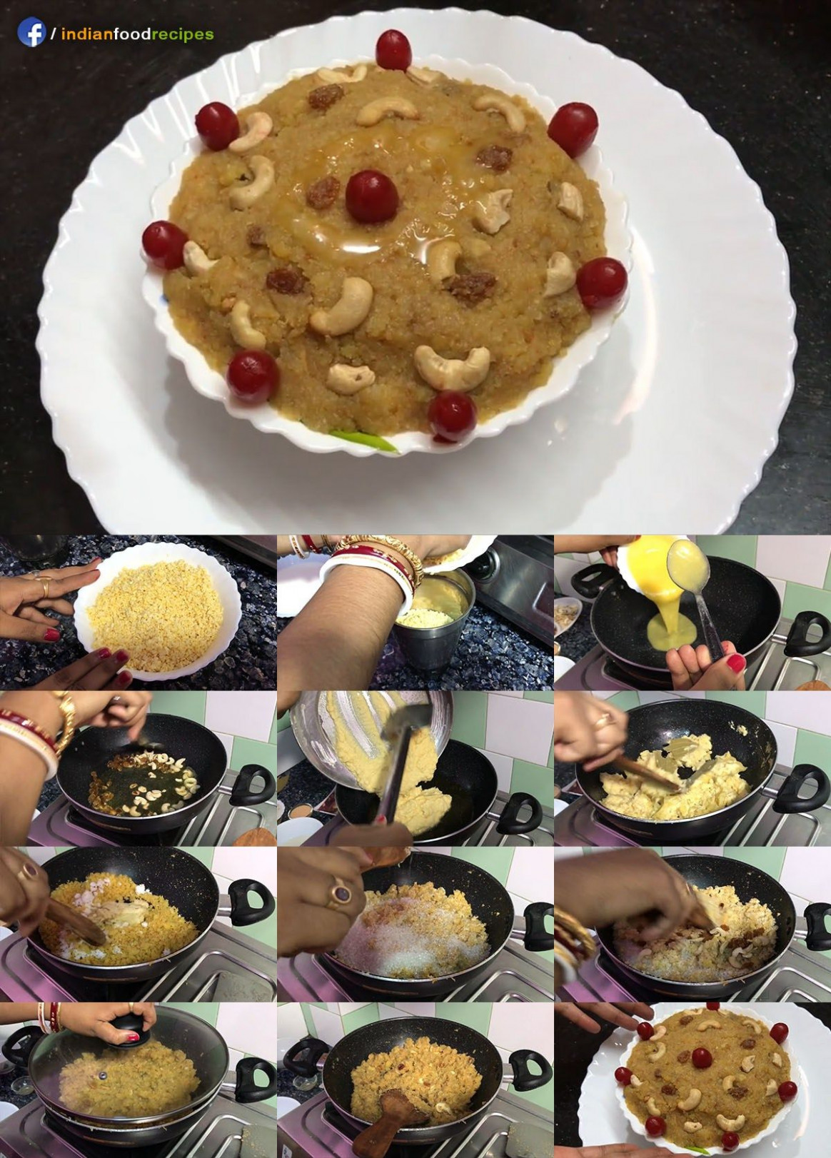 Authentic Moong Dal Halwa | Sheera recipe step by step | All ..